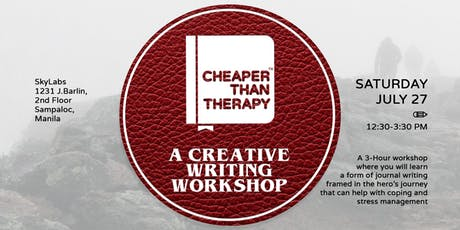 Cheaper Than Therapy: A Creative Writing Workshop tickets