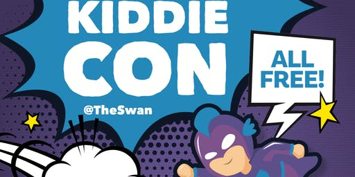 KiddieCon at The Swan - Superhero Training Workshop