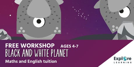 Explore Learning - Black and White Planet workshop - Westcroft Library tickets