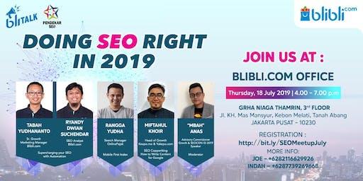 [Free] SEO Meetup with Blibli.com & Pendekar SEO