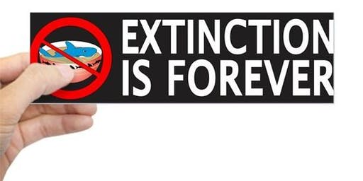Thursday Night Live! Extinction is Forever - can we stop the crisis?