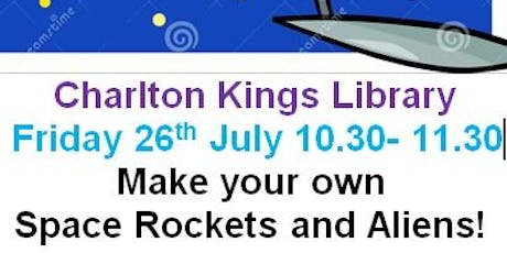 Charlton Kings Library - Summer Reading Challenge - Space Chase Craft Event tickets