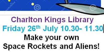 Charlton Kings Library - Summer Reading Challenge - Space Chase Craft Event