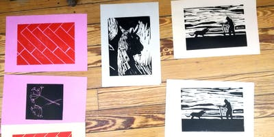 Intro to Linocut with Maeve Dixon
