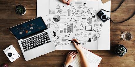 Startup Essentials: Business Model Canvas + Design Thinking tickets