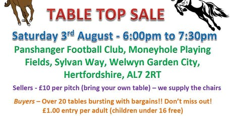 Equine table top sale tickets
