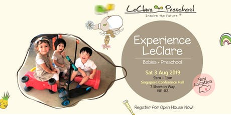 LeClare Open House tickets