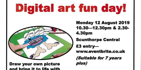 Digital art fun day! tickets
