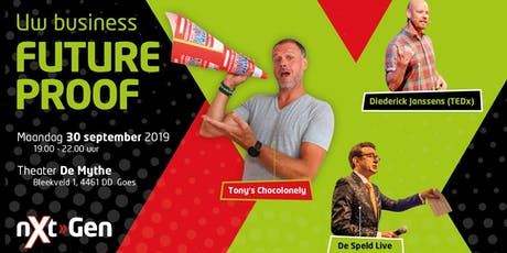 Next-Gen inspiratie event met Tony's Chocolonely, De Speld en TEDx spreker Diederick Janssens tickets