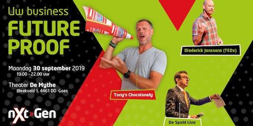 Next-Gen inspiratie event met Tony's Chocolonely, De Speld en TEDx spreker Diederick Janssens