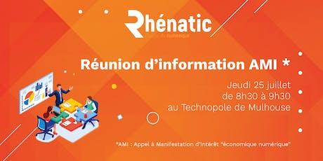 Réunion d'information - AMI Région 2019 billets