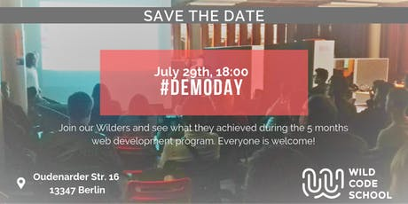 Wild Code School Final Demo Day Tickets
