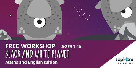 Explore Learning - Black and White Planet workshop - Phoenix Library tickets