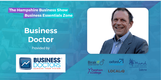 Hampshire Business Show Essentials: Free 1-to-1 Business Doctor Clinics