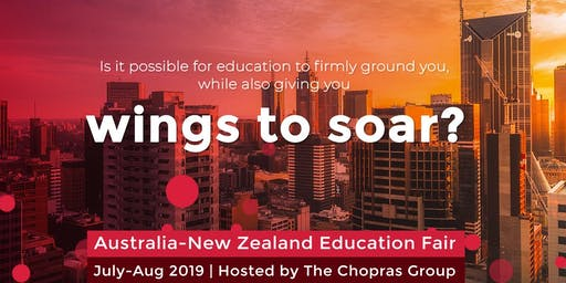 Australia & New Zealand Global Ed Fair 2019 in Chennai