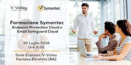 Symantec Sales Certification Day - 30 luglio 2019 biglietti