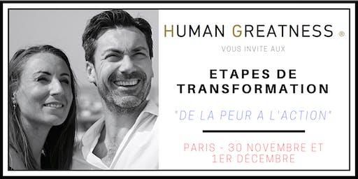 Séminaire - De la PEUR à l'ACTION - PARIS