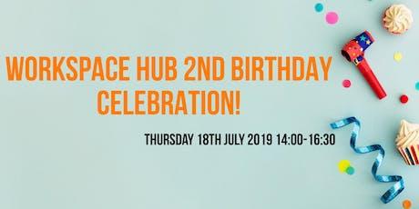 WORKSPACE HUB 2ND BIRTHDAY tickets