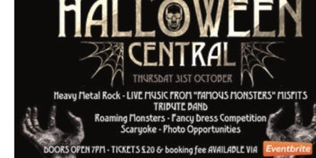 Hallowen central tickets