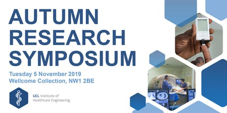 UCL IHE Autumn Research Symposium 2019  billets