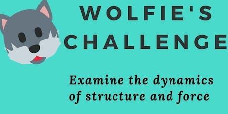 FREE Science fun for kids - Wolfie's Challenge tickets