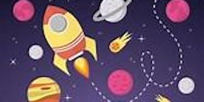 Gloucester Library -Summer Reading Challenge -Space Illustration Workshop