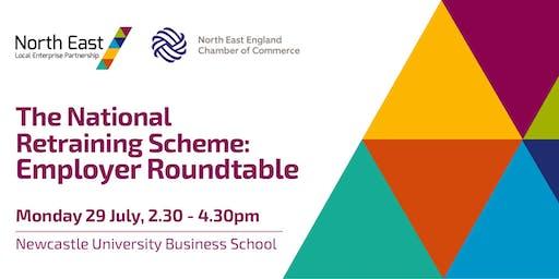The National Retraining Scheme: Employer Roundtable