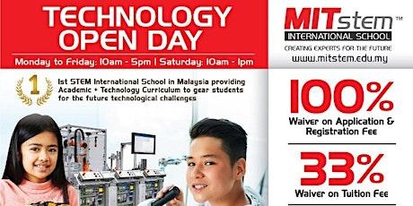 TECHNOLOGY Open Day @MITstem International School tickets