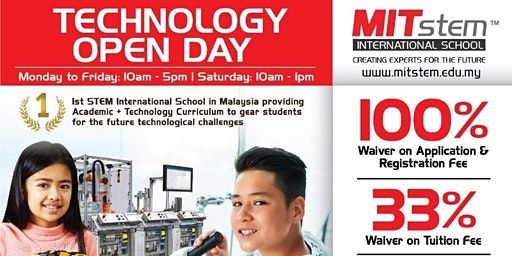 TECHNOLOGY Open Day @MITstem International School