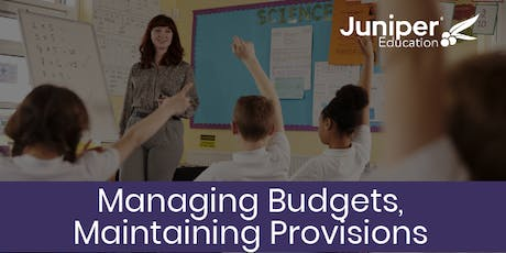 Managing Budgets, Maintaining Provision Conference tickets