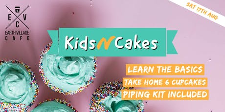 KIDSnCAKE Decorating Session tickets