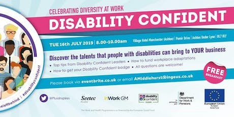 Tameside Disability Confident Event tickets