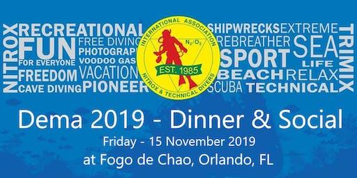 IANTD Dinner & Social - DEMA 2019