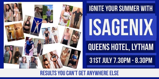 Ignite Your Summer With Isagenix
