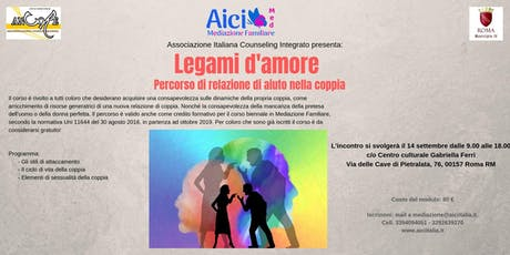 LEGAMI D'AMORE tickets
