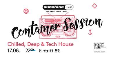 Sunshine Live Container Session am 17.08. im DOCK INN Hostel