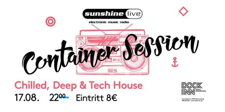 Sunshine Live Container Session am 17.08. im DOCK INN Hostel tickets