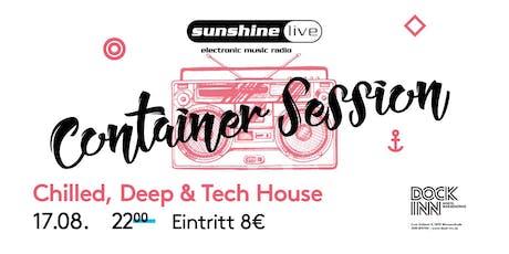 Sunshine Live Container Session am 17.08. im DOCK INN Hostel Tickets