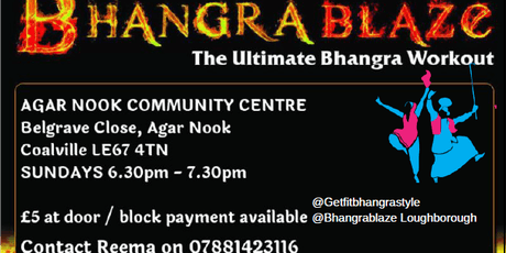 BhangraBlaze Fitness Coalville tickets