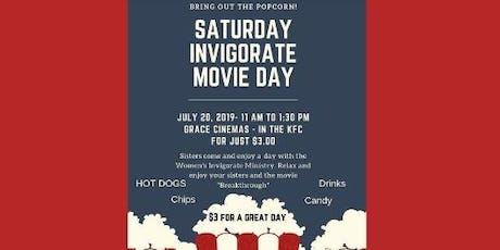 Women Invigorate Movie Day tickets