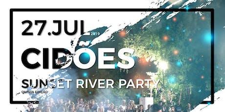 Cidões Sunset River Party bilhetes