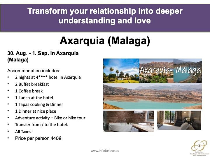 Transform your relationship into deeper understanding and love (Sitges) image