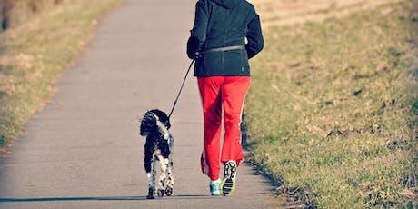 Samen sporten met je hond: lopen of work-out tickets