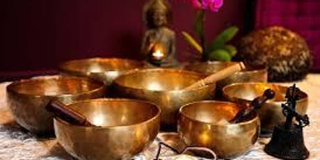 Sound therapy using Himalayan singing bowls tickets