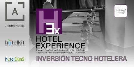HOTEL EXPERIENCE 2 #HEXANDORRA19 tickets