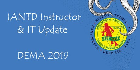 IANTD - Instructor & IT Update - 15 November 2019 tickets
