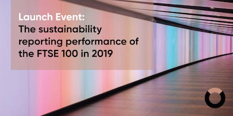 Launch event: The sustainability reporting performance of the FTSE 100 tickets