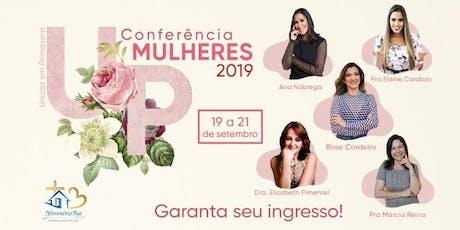 Conferência Mulheres UP (Únicas em Primavera) 2019 ingressos