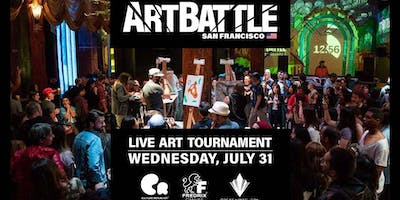 Art Battle San Francisco - July 31, 2019