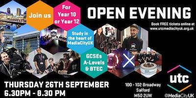 UTC@MediaCityUK Open Evening September